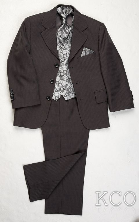 Lawrence Grey/Silver~ Boys Suits
